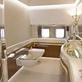 Aranyozott vécé Putyin különgépén