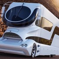 Futurisztikus luxuslakókocsi 700 millióért