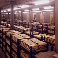 Döbbenetes: így tárolják az aranyrudakat