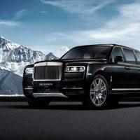 Felturbózott SUV a Rolls-Royce-tól