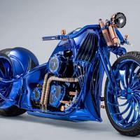 Különös Harley lett a világ egyik legdrágább motorja