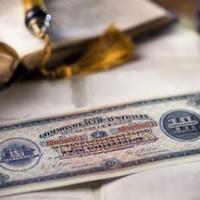 Százéves bankjegy 3.6 millió dollárért
