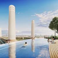 Futurisztikus csoda épül Londonban