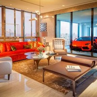 Luxusautónak lakásban a helye
