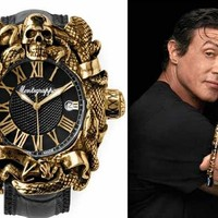 Izgalmas luxusórával virít Sylvester Stallone
