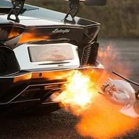 Karácsonyi pulykasütés Lamborghinivel