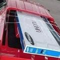 Így (ne) szállíts tévét a Ferraridon!