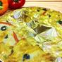 Itt az ehető aranypizza