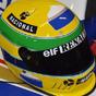Elárverezik Ayrton Senna sisakját