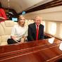 Ilyen belülről Donald Trump luxusrepülője