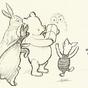 Eladók az első Micimackó-vázlatok