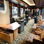 Luxushotel a vonaton