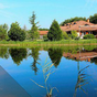 Némi luxus saját tóval