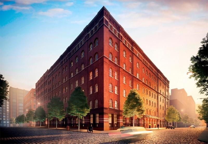 4a847242ef ... egy nemrég átalakított régi gyárépületben egy 500 négyzetméteres, 4  háló- és ugyanannyi fürdőszobás ingatlant a Justin Timberlake - Jessica  Biel páros.