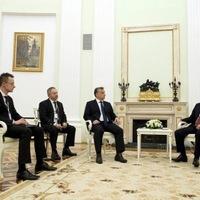 Orbán és Putyin.