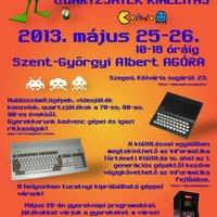 4. Szegedi retro számítógép, video- és quartzjáték kiállítás