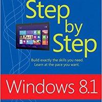 Windows 8.1 Step By Step Books Pdf File