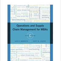 ??FB2?? Operations And Supply Chain Management For MBAs. Title details program calles National