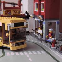 Lego City utcasarok 2009