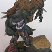 warpwolf heavy warbeast