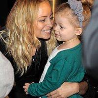Sztárgyerekekkel lett három éves Nicole Richie lánya