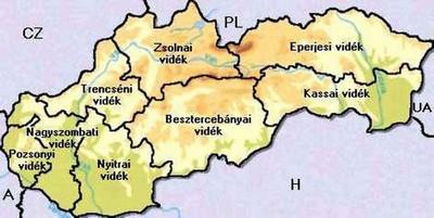 felvidék térkép Felvidéki anyakönyvek online   Genealógia, Családfakutatás felvidék térkép
