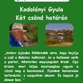 Szerelmes Földrajz - Kodolányi Gyula: Két csönd határán (2005. november)