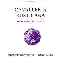 //ONLINE\\ Cavalleria Rusticana (Mascagni, Pietro) Complete Score (FACSIMILE FULL SHEET MUSIC SCORE). works igual division Gracias unique tiene Futbol