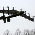 Tíz villanymotor hajtja a NASA új repülőgépét