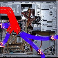Számítógépház szigetelése a por ellen 2.