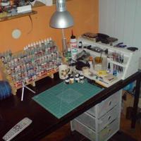 Festős asztal