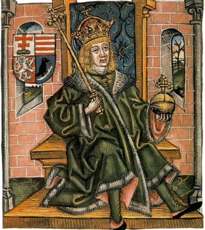 Mátyás trónja