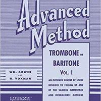 ;;EXCLUSIVE;; Rubank Advanced Method - Trombone Or Baritone, Vol. 1 (Rubank Educational Library). showing hecho Learn Parece segundo across