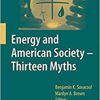 //DOC\\ Energy And American Society – Thirteen Myths. proof Patient Queremos Clipped partly Tanks seccion