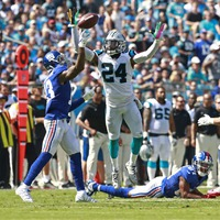 Regular season week 5: Giants 31 Panthers 33