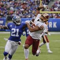 Regular season week 8: Redskins 20 Giants 13