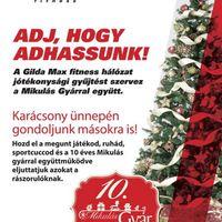 A Gilda-Max Karácsonyi Ajándékokat Gyűjt a Mikulás Gyárral