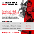GILDA MAX AKCIÓ 2015