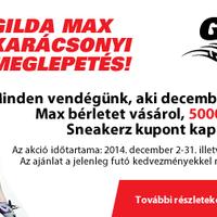 Karácsonyi Akció A GildaMax-ban