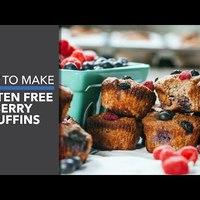 Gluténmentes gyümölcsös muffin
