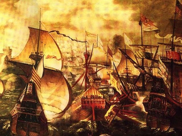 Horgonyok Hernán Cortés flottájából