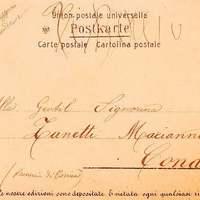 Üzenet a bélyeg alatt