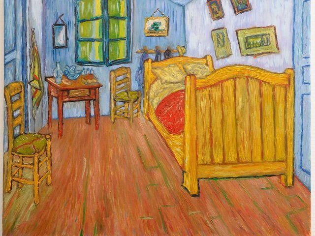 Egy éjszaka Van Gogh ágyában