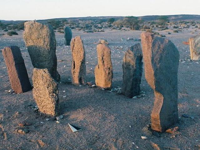 Történelem előtti oázis a Szaharában