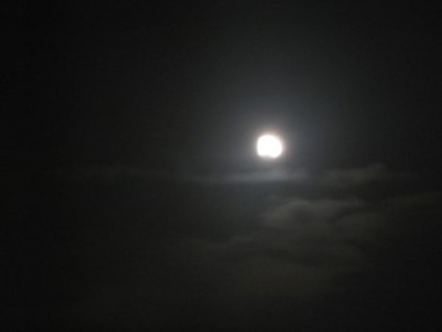 Holdfény és köd