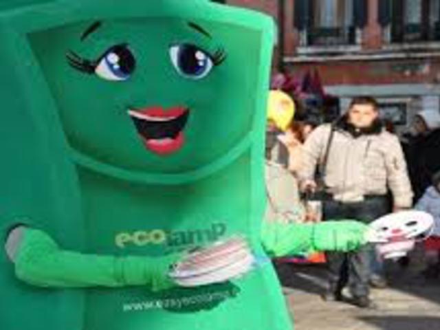 Villanyégőket is reciklálnak Olaszországban