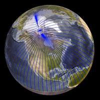 A mágneses északi pólus Szibéria felé mozog