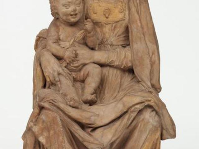 Leonardo készítette a Szűzanya és a nevető Gyermek szobrát?