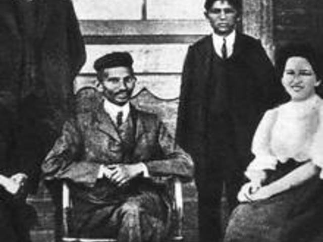 Gandhi hihetetlen barátsága egy angol házaspárral