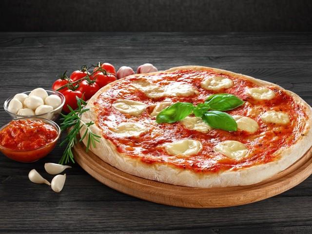 A pizza maga a boldogság